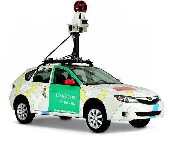 Googleストリートビュー車両