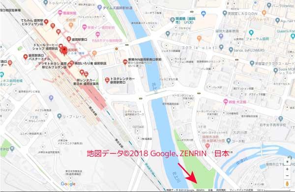 Googleマップ データプロバイダ